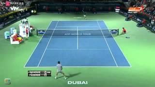 Download Federer thắng ngược Djokovic tại bán kết Dubai VnExpress Video
