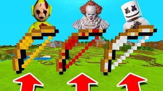 Download Minecraft PE : DO NOT CHOOSE THE WRONG BOW! (Pennywise, Marshmello & Laa-Laa Slendytubbies) Video