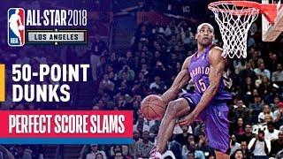 Download ALL 50-Point Dunks In NBA Slam Dunk Contest History Video