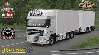 Download [ETS2 v1.32] DAF XF 105 by vad&k v6.1 & BDF Trailer + ALL DLC´s ready Video