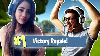 Download Carrying A Guy To *VICTORY* In Duos On Fortnite Video