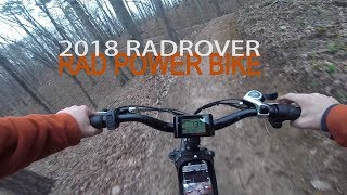 Download Off-Roading the 2018 RadRover Rad Power Bike! Video