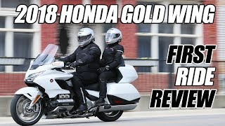Download 2018 Honda Gold Wing Tour First Ride Review Video