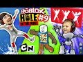 Download ROBLOX #9 HOLE IN THE WALL! + Extreme Cartoon Network Monsters Version w/ FGTEEV Duddy Challenge Video