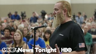 Download Gun Rights Supporters Are Tailing Parkland Students On Their Gun Control Tour (HBO) Video