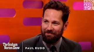 Download Paul Rudd Has Always Been Beautiful - The Graham Norton Show Video