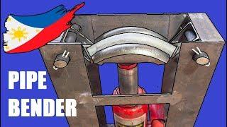 Download Homemade Pipe Bender Using Dumbbell as Die Video