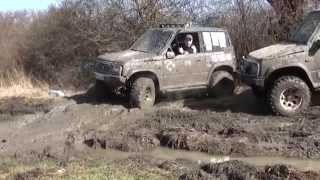 Download Suzuki Vitara dużo błota off road 4x4 super zabawa w terenie Video