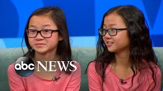 Download Twin Sisters Separated at Birth Reunite on 'GMA' Video