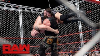Download Big Show vs. Braun Strowman - Steel Cage Match: Raw, Sept. 4, 2017 Video
