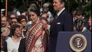 Download President Reagan's Remarks at Prime Minister Gandhi of India State Visit on July 29, 1982 Video