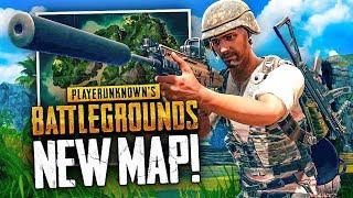 Download NEW JUNGLE MAP WIN! - Battlegrounds 4x4km Map Gameplay (PUBG) Video