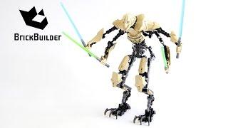 Download Lego Star Wars 75112 General Grievous - Lego Speed Build Video