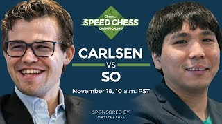 Download Speed Chess Championship: Magnus Carlsen Vs Wesley So Video