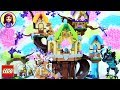 Download Lego Elves The Elvenstar Tree Bat Attack Speed Build - Kids Toys Video