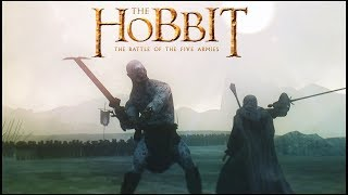 Download The Battle of The Five Armies AZOG VS GANDALF! Cinematic Movie (RoM Mod) Video