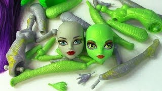Download Create A Monster High Mummy & Gorgon Girls Doll Starter Pack CAM Set Video