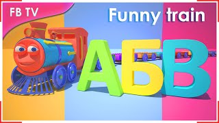Download Russian alphabet | Cartoon for children from Funny Bunny TV Video