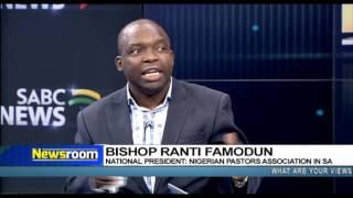 Download Newsroom: Nigerian Pastors Association in SA speak out Video