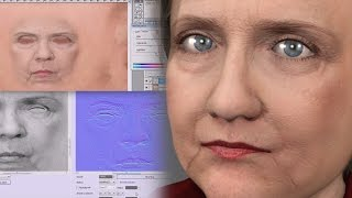 Download iC6/ CC face texture and normal mapping tutorial Video