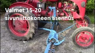 Download Valmet 15-20 sivuniittokoneen asennus Video