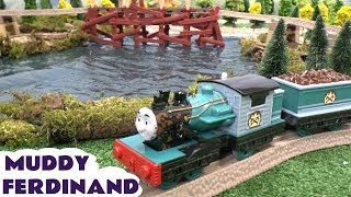 Download Play Doh Thomas & Friends Kids Muddy FERDINAND Toy Train Misty Island Bash Dash Kids Story Playdough Video