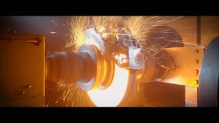 Download BUGATTI CHIRON Titanium caliper brake-test extreme Video
