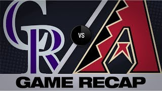 Download Kelly, Peralta lift D-backs with clutch 8th | Rockies-D-backs Game Highlights 8/19/19 Video