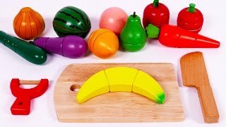 Download Learn Colors with Cutting Fruit and Vegetables Playset for Children Video