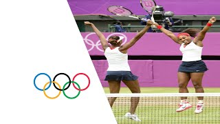 Download Venus & Serena Williams Win Olympic Doubles Gold - London 2012 Olympics Video