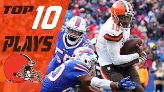 Download Browns Top 10 Plays of the 2016 Season | NFL Highlights Video