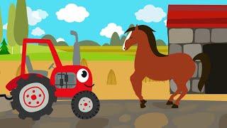 Download Песенки для детей - Животные - развивающая детская песенка - загадка для детей малышей Video