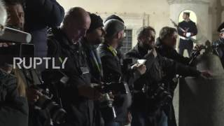 Download Italy: Renzi arrives for resignation talks with President Mattarella Video