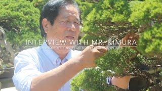 Download Interview with Bonsai master Masahiko Kimura Video