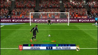 Download ARSENAL vs RAEL MADRID   Penalty Shootout   PES 2017 Gameplay Video