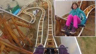 Download See Roller Coasters Set Up In People's Private Backyards Video