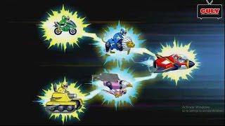 Download Siêu nhân Super V biến hình Robot chiến đấu | Cu lỳ chơi game #7 | gameplay Run Run Super Five Video