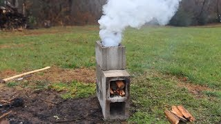 Download Awesome Rocket Stove Video