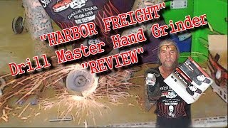 Download Is The ″Harbor Freight Hand Grinder″ Worth $10.00? - EXTREME REVIEW Video