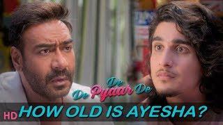 Download De De Pyaar De : Dialogue Promo -How Old Is Ayesha? | Ajay Devgn | Tabu | Rakul |Releasing May 17th Video