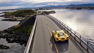 Download The Ford GT drives the iconic Atlantic Ocean Road in Norway (+Arctic Circle Raceway) Video