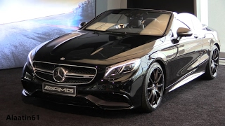 Download Mercedes-AMG S63 Cabriolet 2017 Start up, In Depth Review Interior Exterior Video