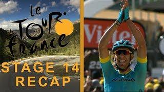 Download Tour de France 2018: Stage 14 Recap I NBC Sports Video