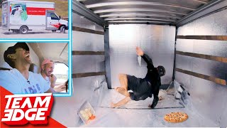 Download Survive the Back of a Moving Truck Challenge!! Video