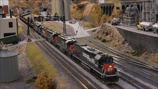 Download Southern Pacific TankTrain in HO - TankTrain at the PMRRC Video