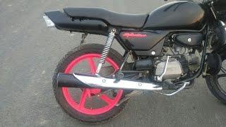 Download Splendor modified MOD 4 | e bike | led headlights | hid headlight | bike rack | tail light Video
