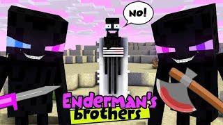 Download MONSTER SCHOOL : ENDERMAN'S BROTHERS MAKE TROUBLE IN MONSTER SCHOOL - SAD STORY Video