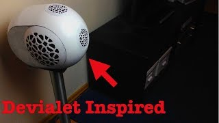 Download Devialet Phantom Inspired DIY Bluetooth Speaker (3D Printed, by Philip Erren) Part III Video