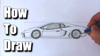 Download How to Draw a Sports Car Lamborghini Video