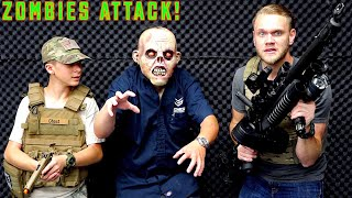 Download Airsoft War: Zombies Attack The Evike Superstore! Video